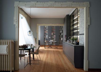 cocina gris antracita